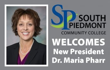 (English) Dr. Maria Pharr Named New President of South Piedmont Community College