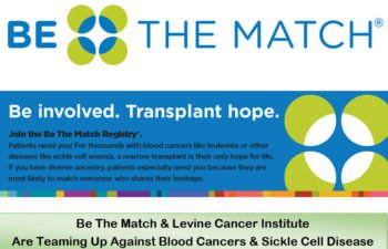 (English) Be The Match! & Levine Cancer Institute with SPCC Team Up