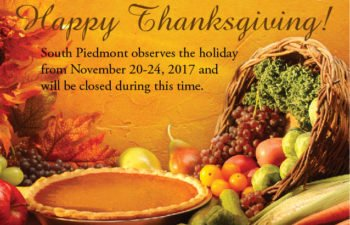 Thanksgiving Holiday Observance
