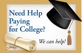 Need Help Paying for College? We can help!