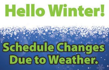 (English) South Piedmont will open at 9:30 am on Friday, January 19.